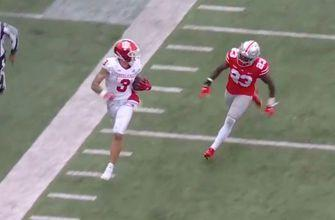 Michael Penix finds Ty Fryfogle for 56-yard TD, keeping Hoosiers in the game, 42-35