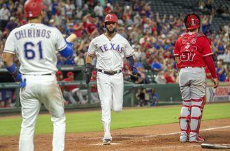 Profar starts triple play and homers, Rangers rally past LAA