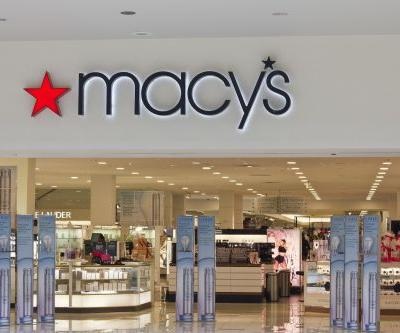 Macy's beats and raises its guidance, but shares are down more than 5%