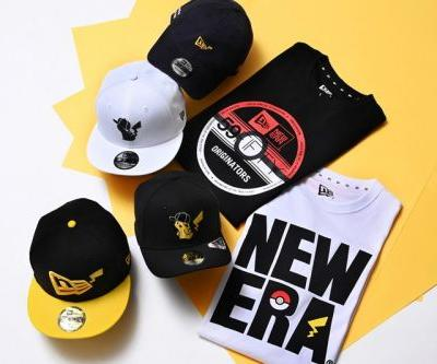 New Era Launches Headwear and Apparel Pokémon Collection for Summer 2020