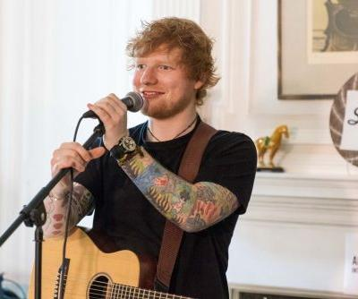 What happens when Ed Sheeran plays a concert in someone's living room