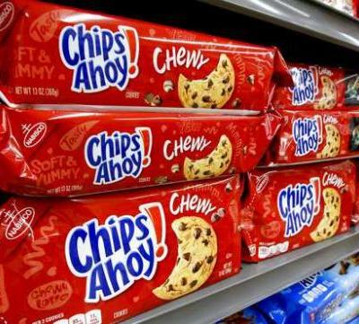 Chewy Chips Ahoy cookies recalled due to 'unexpected ingredient'
