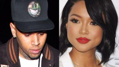 Karrueche Tran Claims Chris Brown Punched Her In The Stomach; Seeks Restraining Order