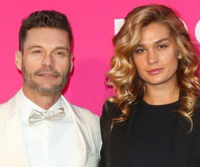 Ryan Seacrest wore his girlfriend's blouse on date night