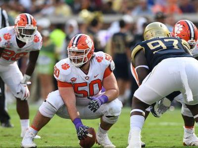 Here's a breakdown of Clemson's offensive line for the Cotton Bowl