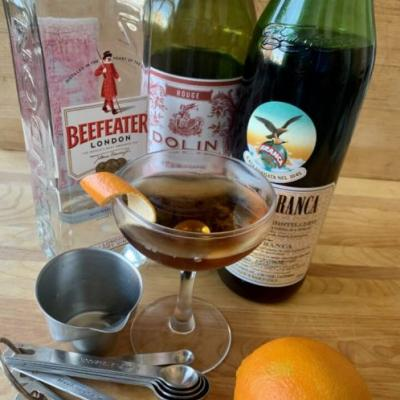 Friday Cocktail Hour: The Hanky Panky