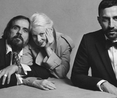 Riccardo Tisci Announces Vivienne Westwood x Burberry Collaboration
