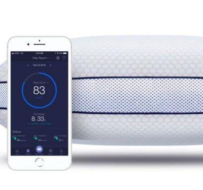 This $170 adjustable smart pillow tracks your sleep patterns to help you get a better night's sleep - here's how it works