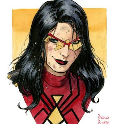 Spider-Woman Portrait