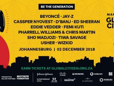Beyoncé & Jay-Z, Eddie Vedder, Ed Sheeran, & More To Play Mandela 100 Celebration