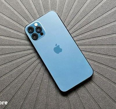 The Pacific Blue iPhone 12 Pro is a winner, folks!