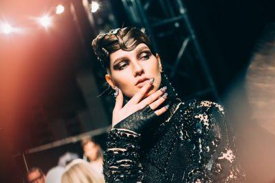 Runway Report: Snake Charming at The Blonds