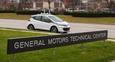 GM And Toyota Call For Autonomous Testing Laws To Be Relaxed