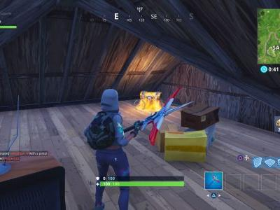 Fortnite: Search Chests in Salty Springs - Every possible chest spawn location in Salty Springs