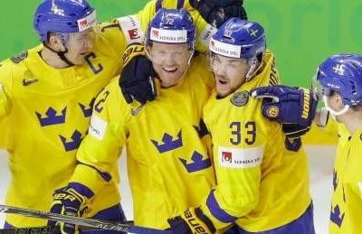 Sweden crushes U.S. to reach final of hockey worlds