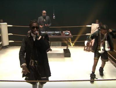 Watch Young Thug, Swae Lee, & Mike Will Made-It Perform In A Boxing Ring On Fallon