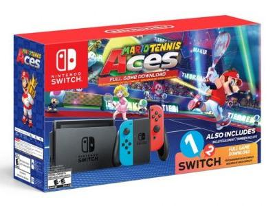 Nintendo Serves Up a Switch Bundle Featuring Mario Tennis Aces