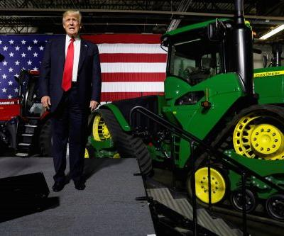 Trump is set to roll out a $16 billion bailout package as the trade war stings American farmers