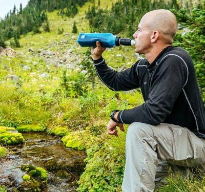 I'm an avid hiker and camper - and I always pack this company's water filter and insect repellent