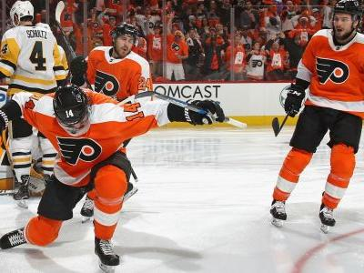 NHL playoffs 2018: Flyers' Sean Couturier played with torn MCL