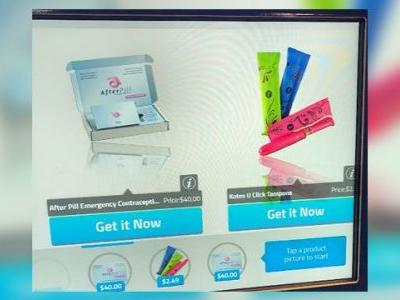 Colleges make morning-after pill available in vending machine