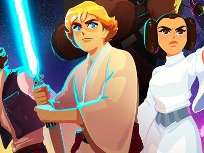 'Star Wars: Galaxy of Adventures' Animated Shorts Aim to Turn Kids Into 'Star Wars' Fans Early