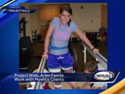 Project Walk, Arlen family work with myelitis clients