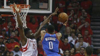 NBA playoffs 2017: Rockets eliminate Thunder, end Russell Westbrook's historic season