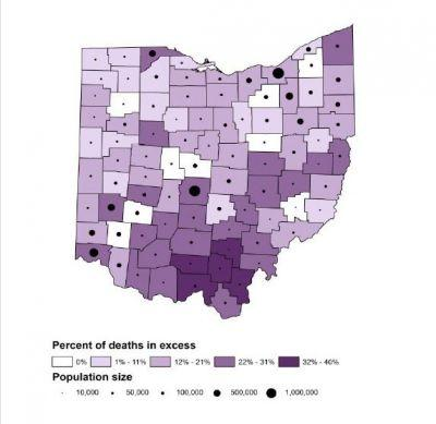 Health rankings highlight Ohio's opiate crisis, youth dropout and unemployment