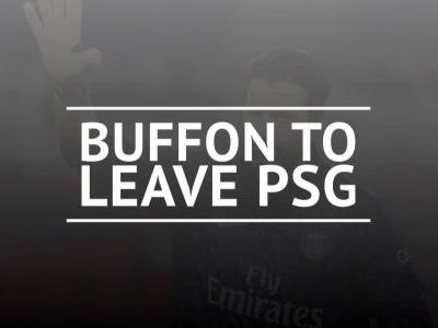 Buffon calls time on PSG career