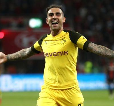 Alcacer completes €23m permanent move to Borussia Dortmund from Barcelona