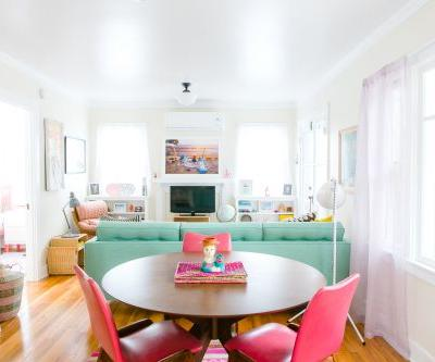 6 Brilliant Ways To Make Space for a Dining Table in The Smallest Living Rooms