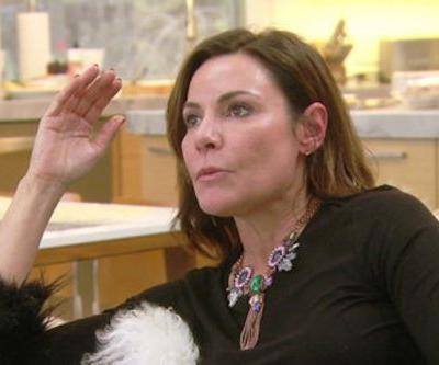 Luann de Lesseps Apologizes To Bethenny Frankel On Tonight's Real Housewives Of New York