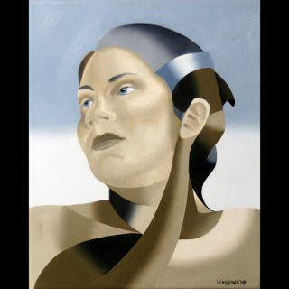 Mark Webster - The Bronze Age Abstract Oil Painting Series 7