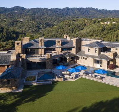 A tech billionaire just listed his Palo Alto home for $100 million, the most expensive Bay Area listing in a decade - take a look inside
