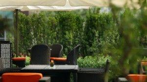 Fall in Love with Summer at exclusive environment of Opus terrace at Four Seasons hotel Beijing