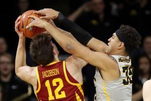 Tyler Cook has 26 points, No. 18 Iowa beats Iowa State 98-84