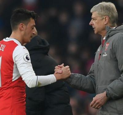 'Everybody wants to play under him' - Ozil pays tribute to Arsenal boss Wenger