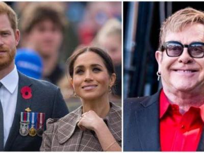 Elton John: Will protect Meghan Markle and Prince Harry from media intrusion that killed Diana