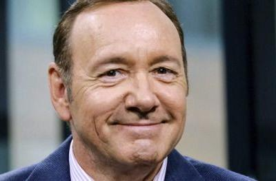 Kevin Spacey Makes Rare Rome Appearance to Recite