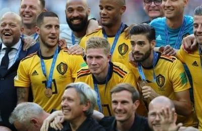 Belgium blanks England to finish 3rd at World Cup