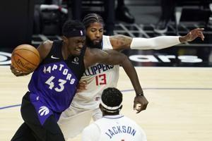 Clippers rally to beat Raptors 105-100, end 3-game skid