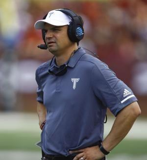 West Virginia hires Troy's Brown for 6 years, $19.05 million