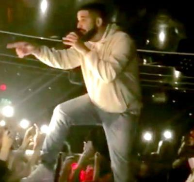 Drake stops his concert to call out a man allegedly sexually harassing women in the crowd