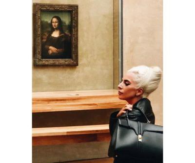 Lady Gaga Shows Off Hedi Slimane's First Bag for Céline