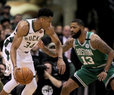 NBA playoffs wrap: Giannis Antetokounmpo leads Bucks to win over Celtics to force Game 7