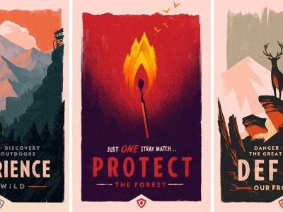 Artist Olly Moss is bringing his talents to Valve