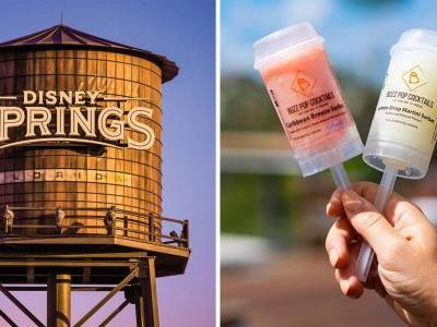 Disney Springs Restaurant Debuts Boozy Push-Pop Cocktails
