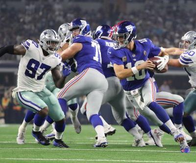 Giants offense implodes in disastrous loss to Cowboys