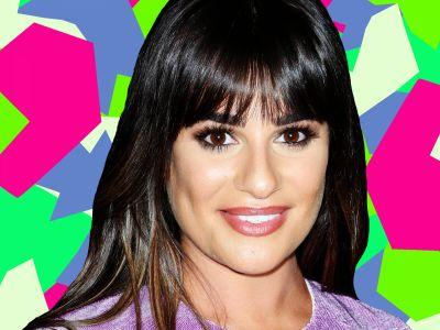 Lea Michele's Ponytail Is The Coolest Thing You'll See All Day